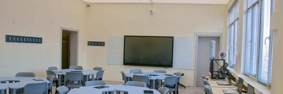 Създаване на технологичен кабинет за интерактивно и виртуално STEM обучение.